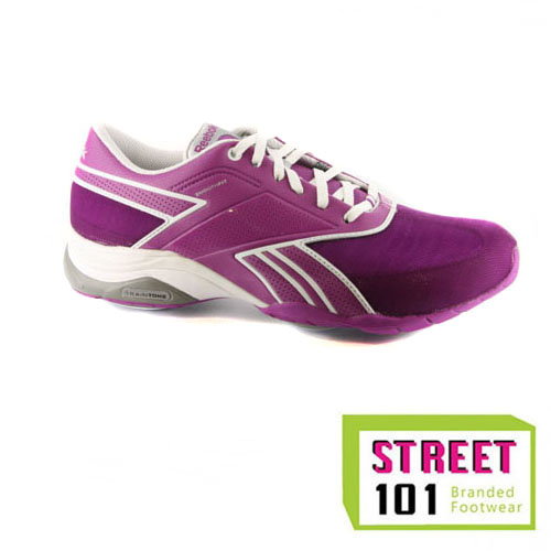 Womens Reebok Easytone Traintone Anthlin Purple Fitness Trainers
