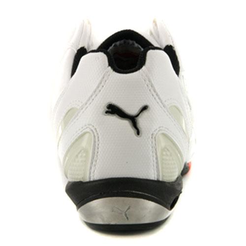314f925987e0 Mens Puma Testastretta II Ducati White Leather Motorsport Trainers ...