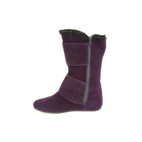 Womens Etnies Holiday Purple Suede Winter Boots | eBay