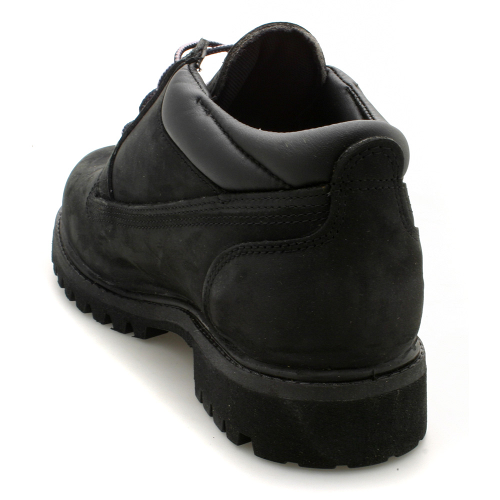 mens timberland classic ox black nubuck low boots ebay