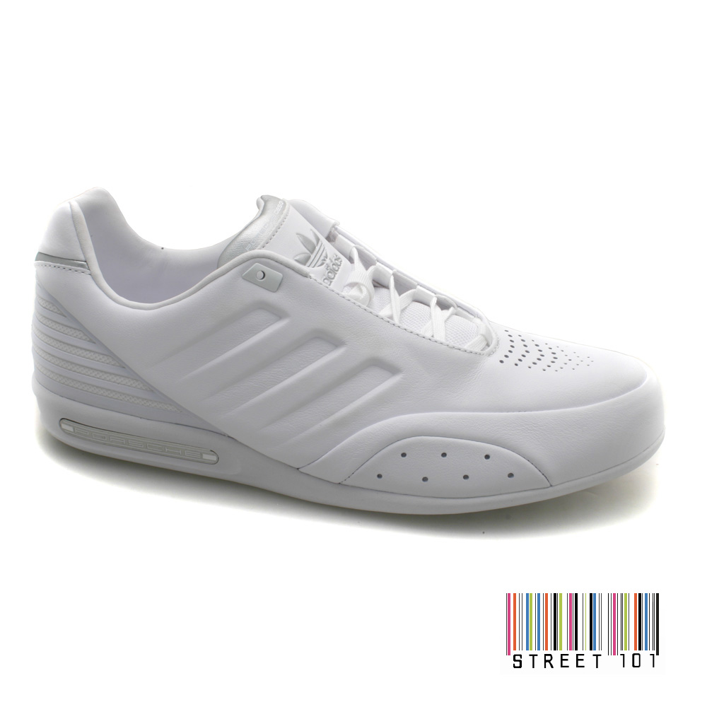 new product f2778 db72e Mens Adidas Porsche Design 917 White Leather Designer Trainers | eBay