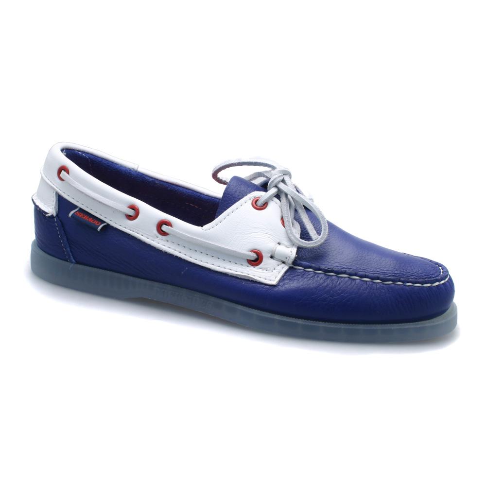 Sebago Men S Spinnaker Boat Shoes Red Blue