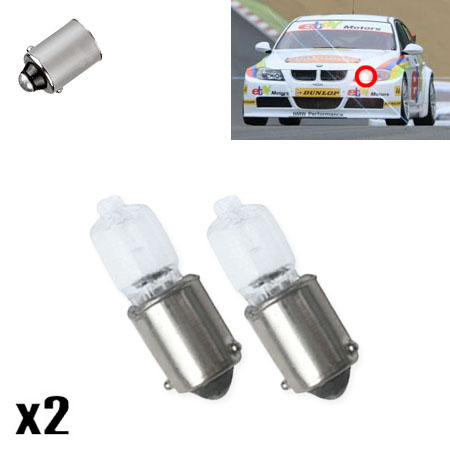Mercedes e class w210 2 6 434 h6w halogen side lights for Mercedes benz light bulb replacement