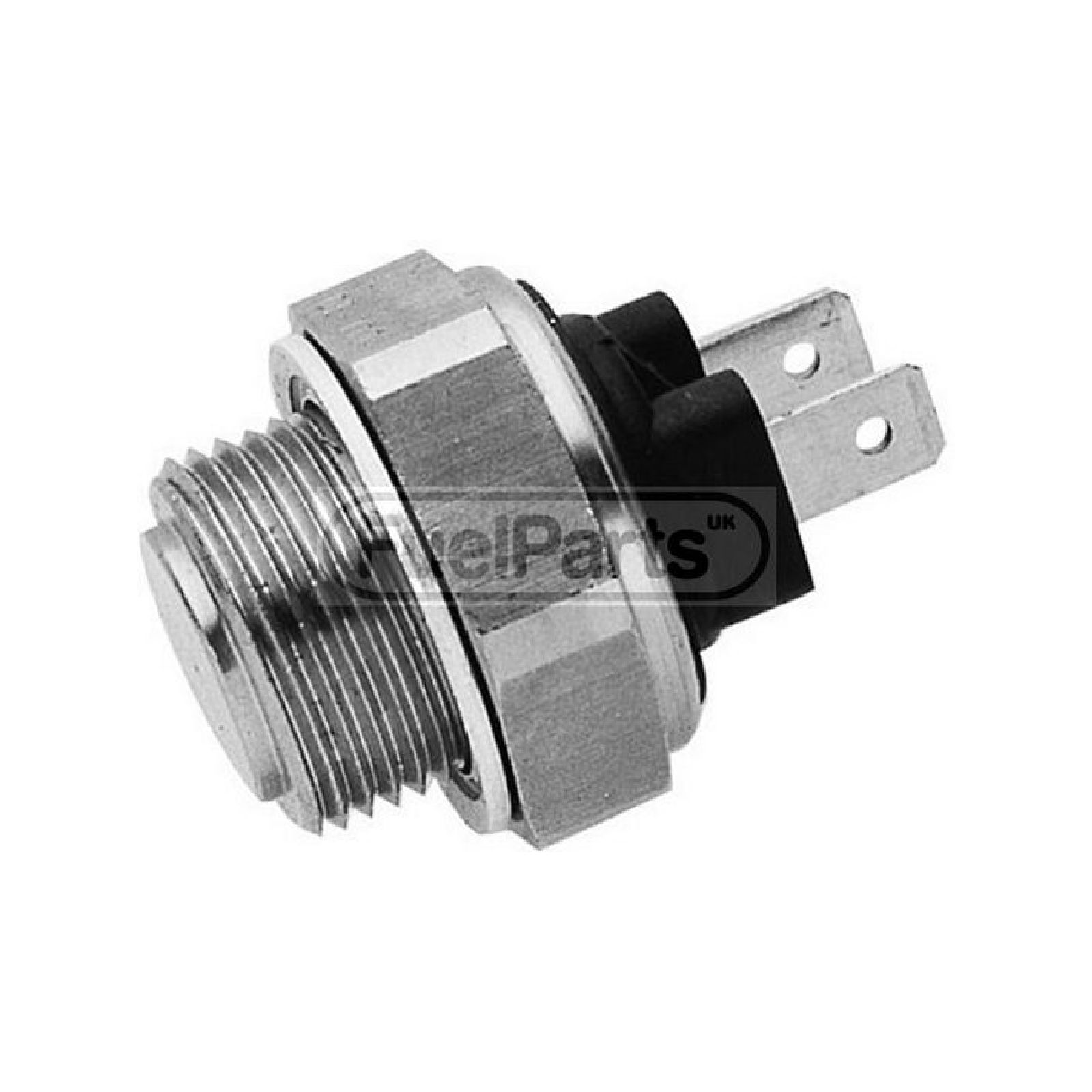 Cooling Fan Temperature Switch : Black housing fuel parts radiator fan temp switch engine