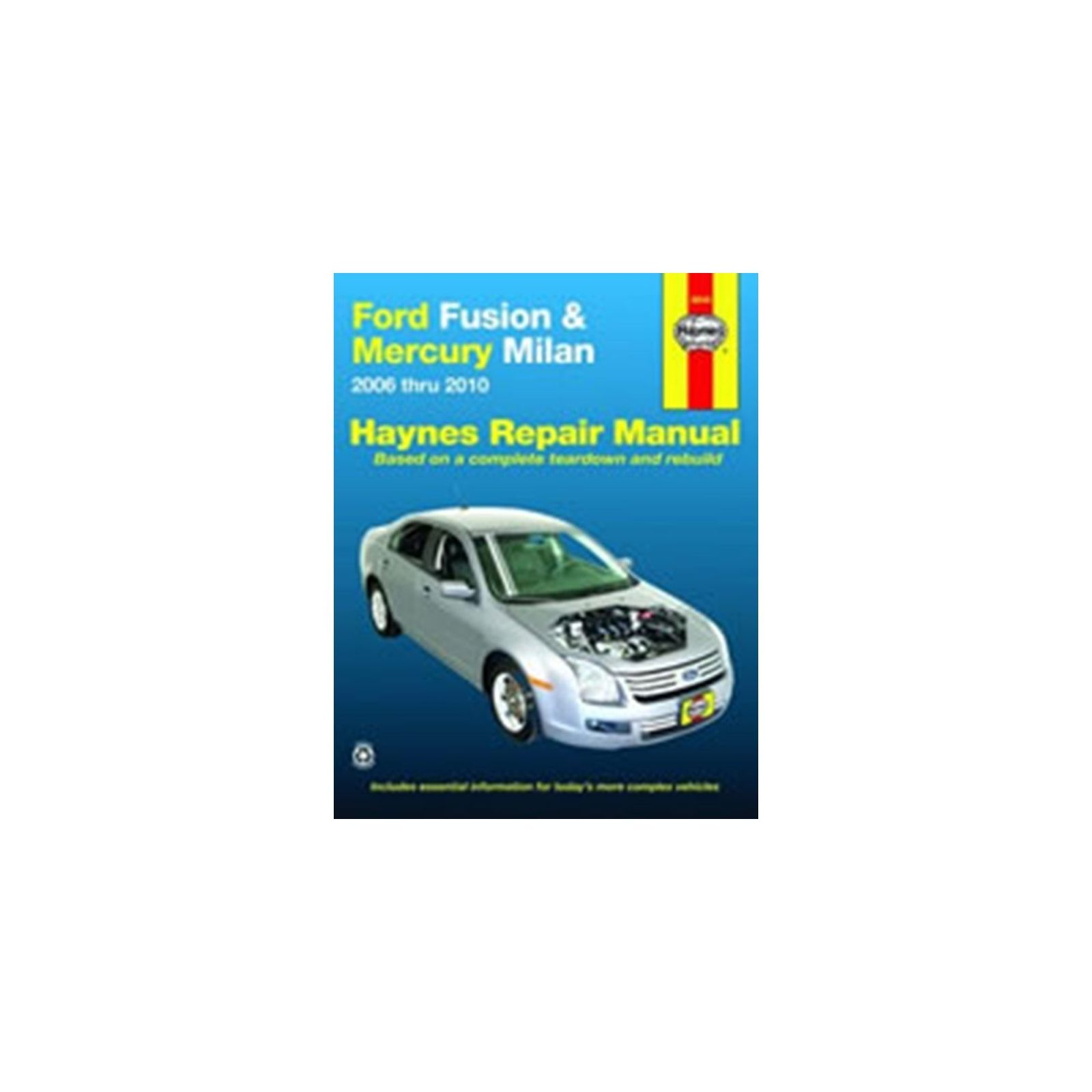 Genuine Haynes Owners Workshop Manual Ford Fusion