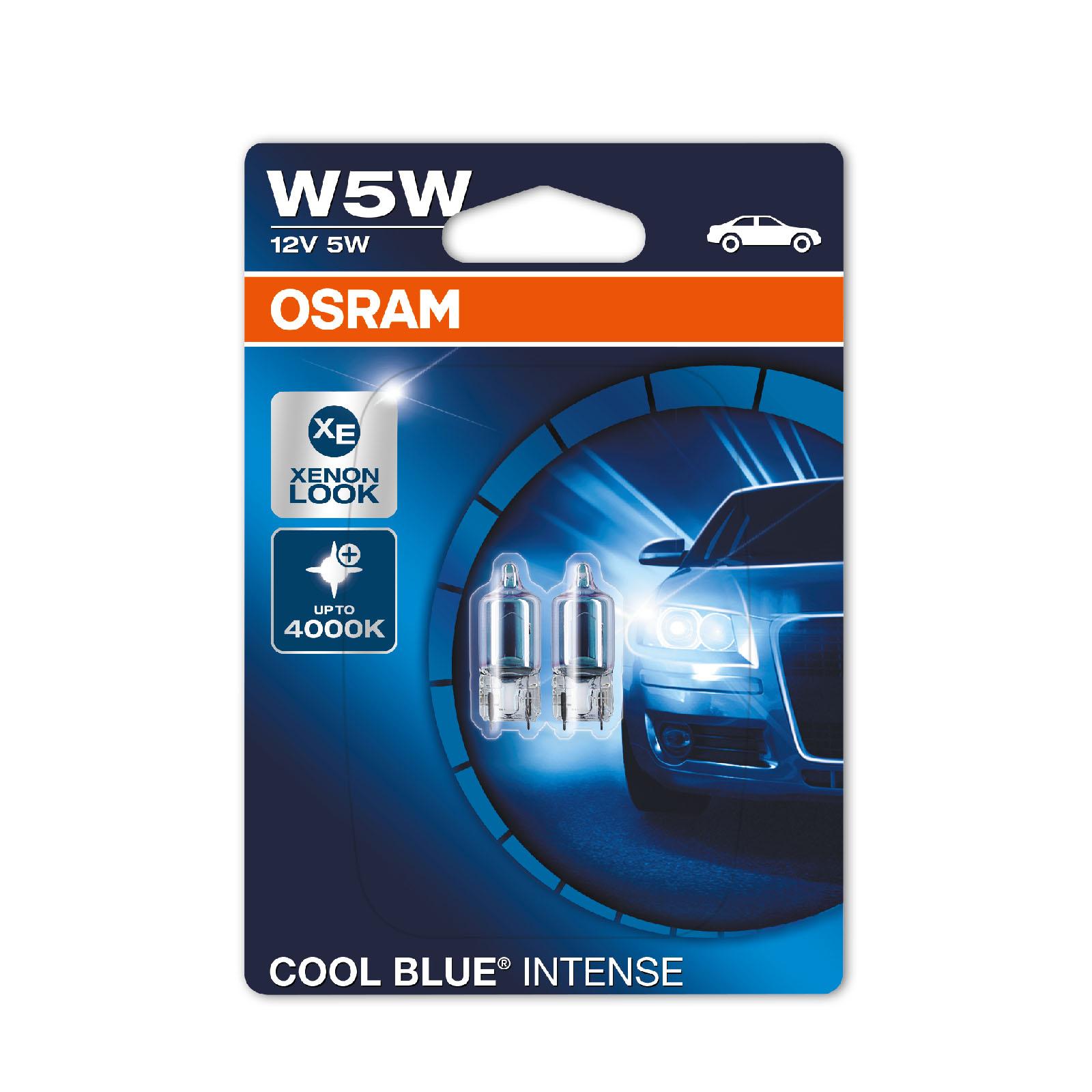 2x ford ranger genuine osram cool blue intense number. Black Bedroom Furniture Sets. Home Design Ideas