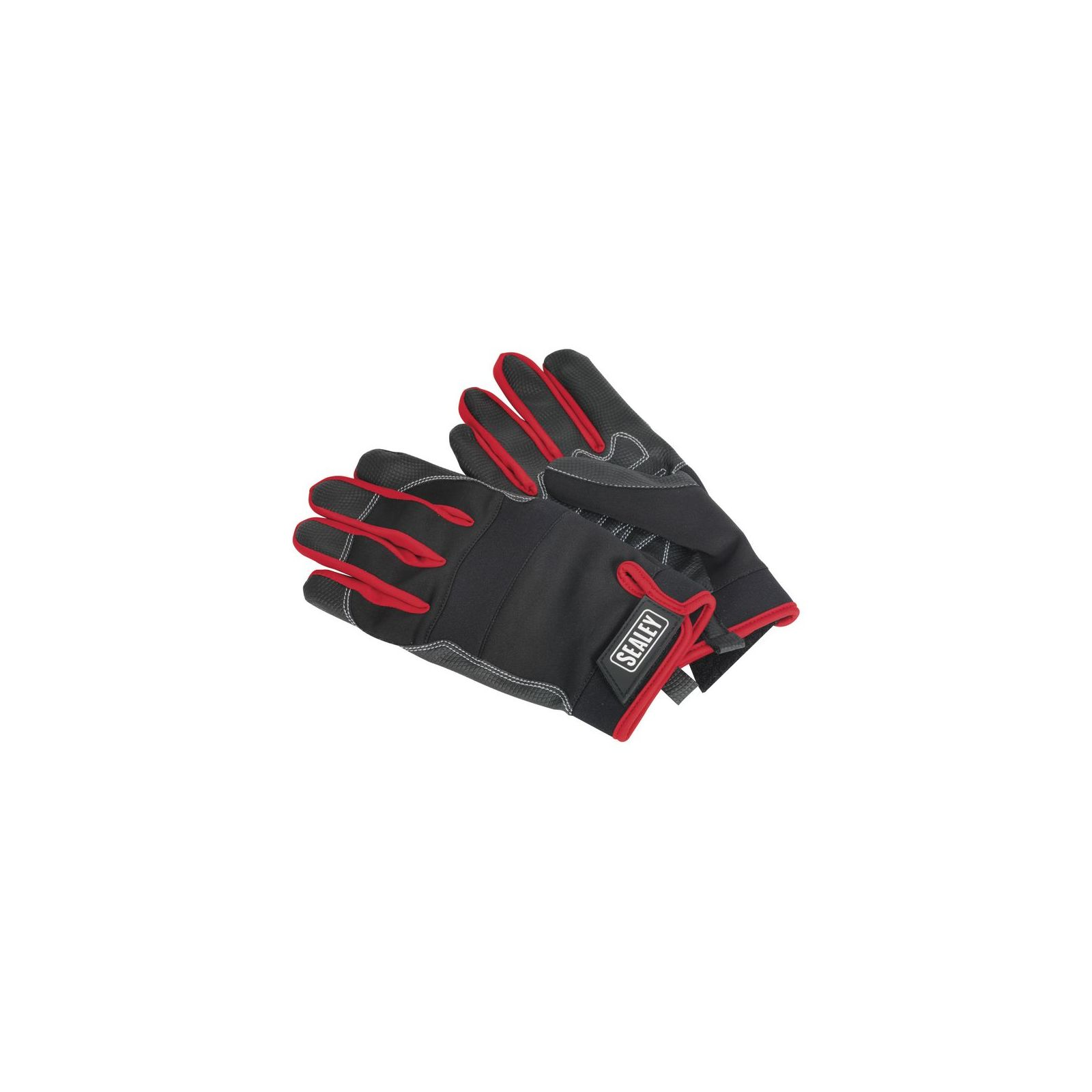 Sealey Mechanic S Gloves Light Palm Tactouch Large