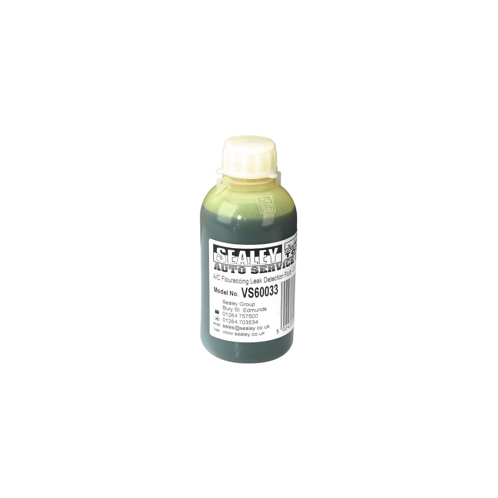 Details about Sealey Air Conditioning Fluorescing Leak Detection Dye  #8A8E3D