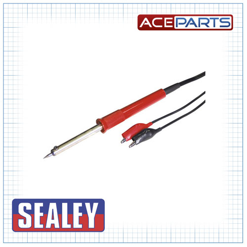 Sealey Soldering Iron 40W/12V Soldering Tools & Equipment Work Tools