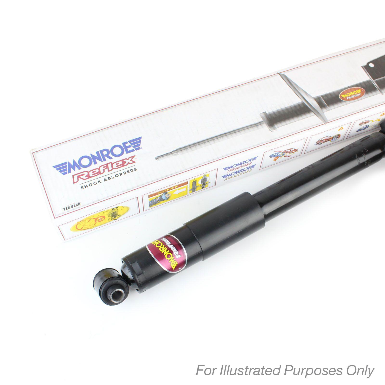 Shock Absorber Replacement : Monroe reflex rear shock absorbers genuine suspension