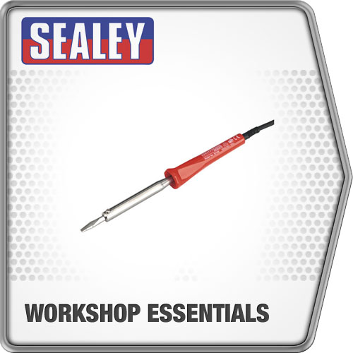 Sealey Soldering Iron 100W/230V Soldering Tools & Equipment Work Tools SD100