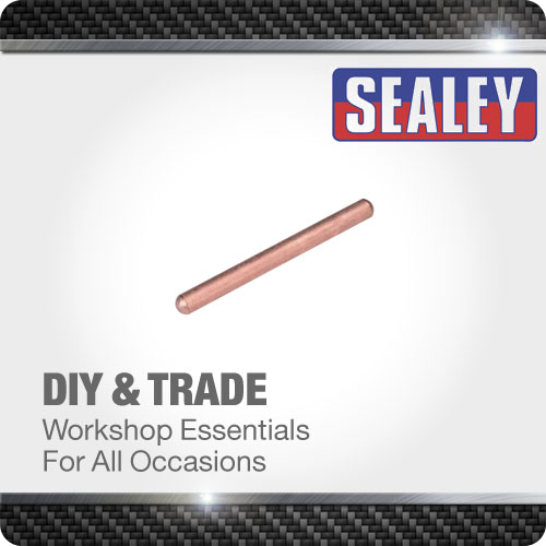 Sealey Electrode Straight 130mm Spot Welder Consumable Welding Accessories