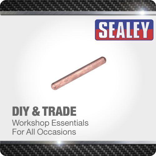 Sealey Electrode Straight 100mm Spot Welder Consumable Welding Accessories