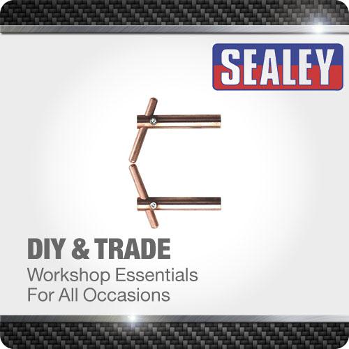 Sealey Spot Welding Arms 120mm Inclined Electrode Holder Heavy Duty Welder Tool
