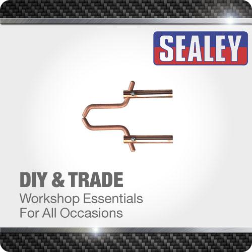 Sealey Spot Welding Arms 120mm Pincer Electrode Heavy Duty Welder Tool