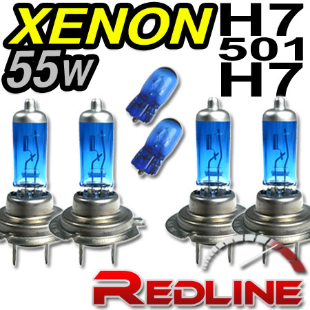 55w xenon fern abblend lampe h7 h7 opel corsa c van ebay. Black Bedroom Furniture Sets. Home Design Ideas