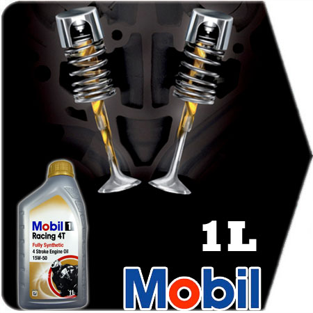 1 litre mobil 1 racing 4t 15w50 4 stroke jaso ma fully for Api motor oil guide