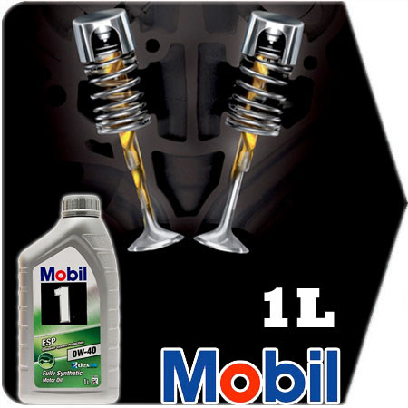 1 litre mobil 1 esp 0w40 fiat fully synthetic