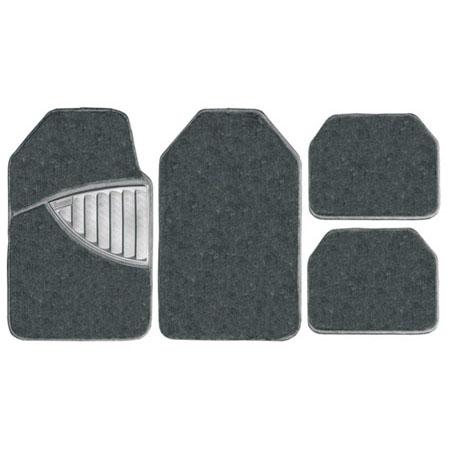 4 Pce Michelin Universal Grey Premuim Carpet Rubber Floor