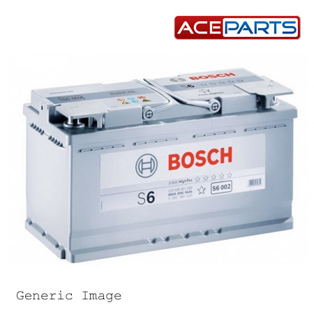 vw touareg bosch s6 39 agm 39 car battery type 019 genuine 12v replacement new ebay. Black Bedroom Furniture Sets. Home Design Ideas
