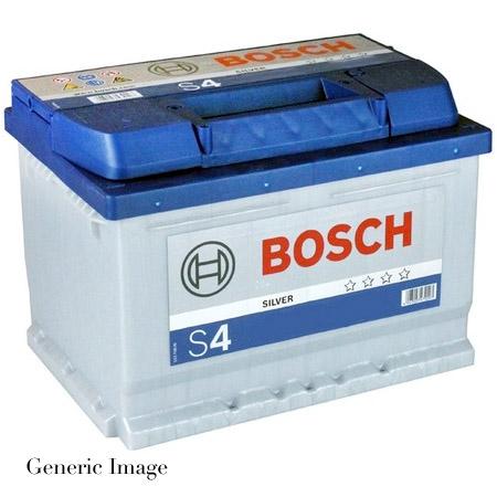 nissan micra k11 1 3 bosch s4 39 blue 39 car battery type 044 053 158 genuine ebay. Black Bedroom Furniture Sets. Home Design Ideas
