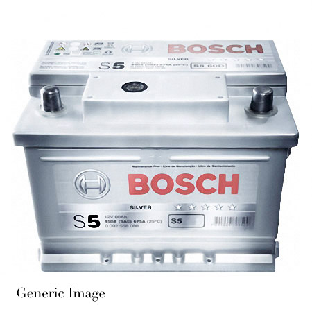 peugeot 206 1 4 bosch s5 39 silver 39 car battery type 027 genuine 12v new. Black Bedroom Furniture Sets. Home Design Ideas