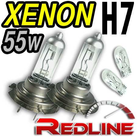 55W Clear Dipped/low Bulbs H7 FORD Focus II Focus RS