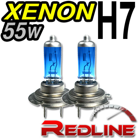 55w SUPERWHITE XENON H7/ PX26D/ T4.625/ AX LIGHT BULBS