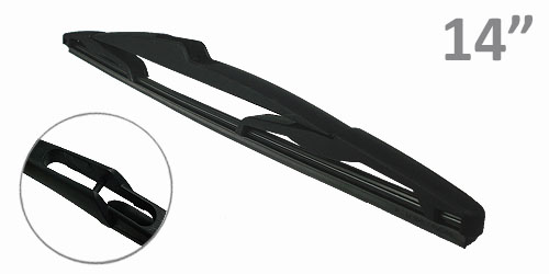 Peugeot 206 01- Front/Rear Wiper Blades Set