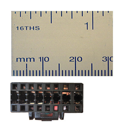 PANASONIC 16-PIN ISO LEAD WIRING HARNESS CONNECTOR 4