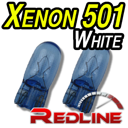 Xenon 501 / W5W Side Light Bulbs For Cars / Motorbikes