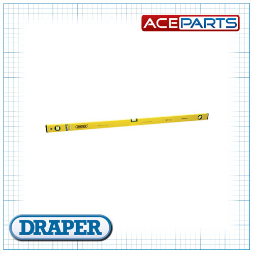 Draper 1x DIY Series 1200mm Box Section Level Professional Tool
