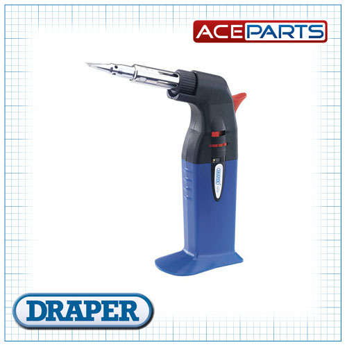Draper 1x 2 in 1 Soldering Iron and Gas Torch Professional Tool