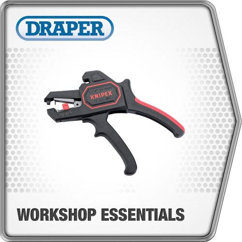 Draper 1x Knipex Expert Self Adjusting Insulation Stripper Professional Tool