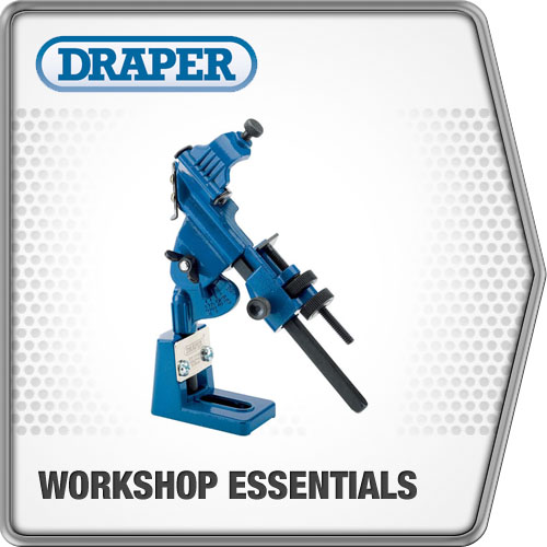 Draper 1x Drill Grinding Attachment Garage Professional Standard Tool 44351