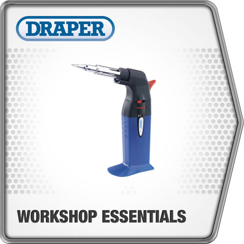 Draper 1x 2 in 1 Soldering Iron and Gas Torch Professional Tool 78772