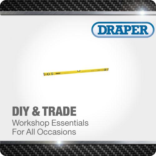 1x DIY Series 1200mm Box Section Level Professional Tool Draper
