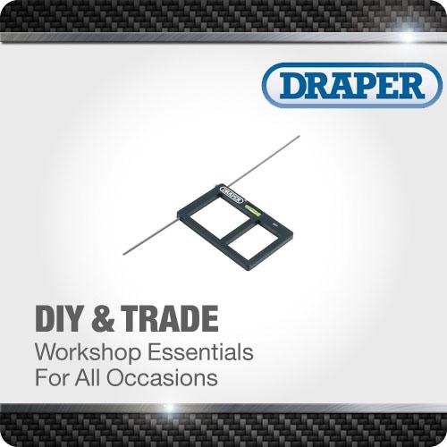1x Socket Box Cutting Template Quality Professional Standard Tool Draper