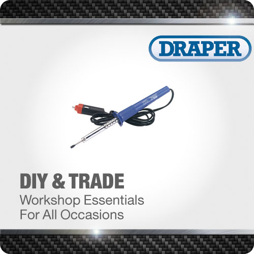1x 12V DC 15W Soldering Iron Quality Professional Standard Tool Draper