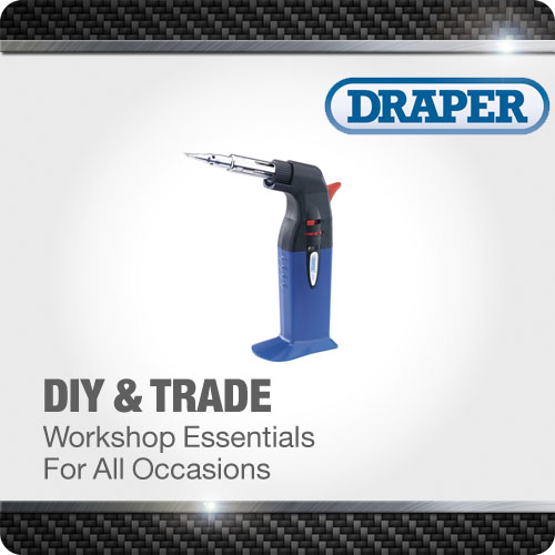 1x 2 in 1 Soldering Iron and Gas Torch Professional Tool Draper