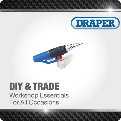 1x Gas Soldering Iron Quality Professional Standard Tool Draper