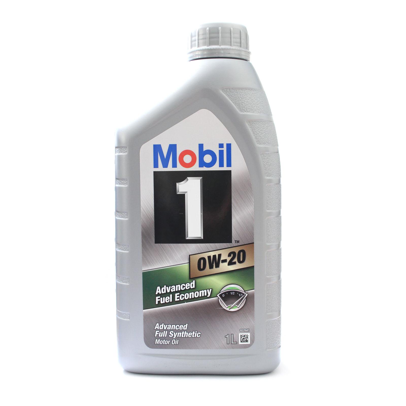 1 Litre Mobil 1 Fuel Economy 0w20 Advanced Performance