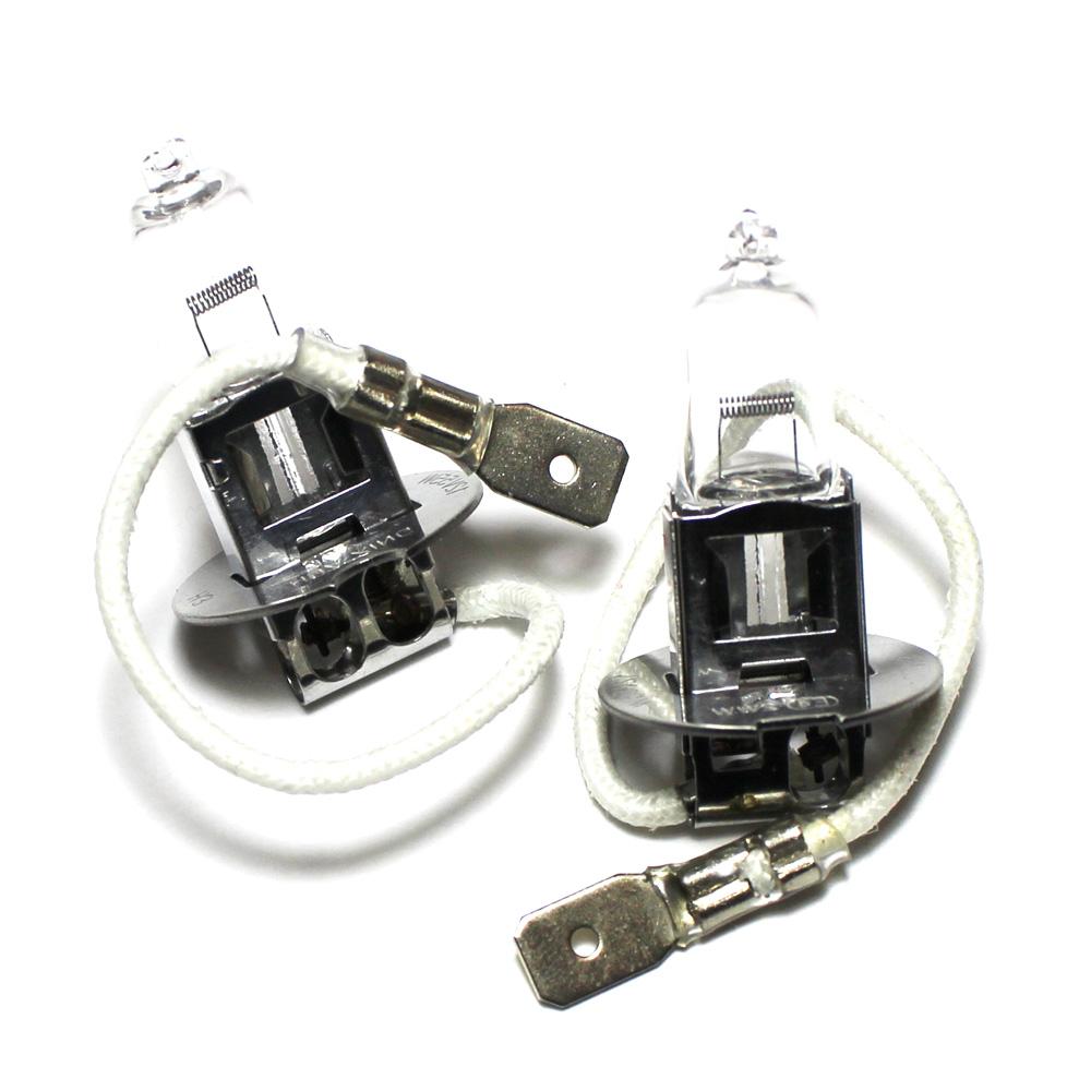 100w Clear Standard Halogen Xenon Hid Front Fog Lamp Light Bulbs Pair Ebay