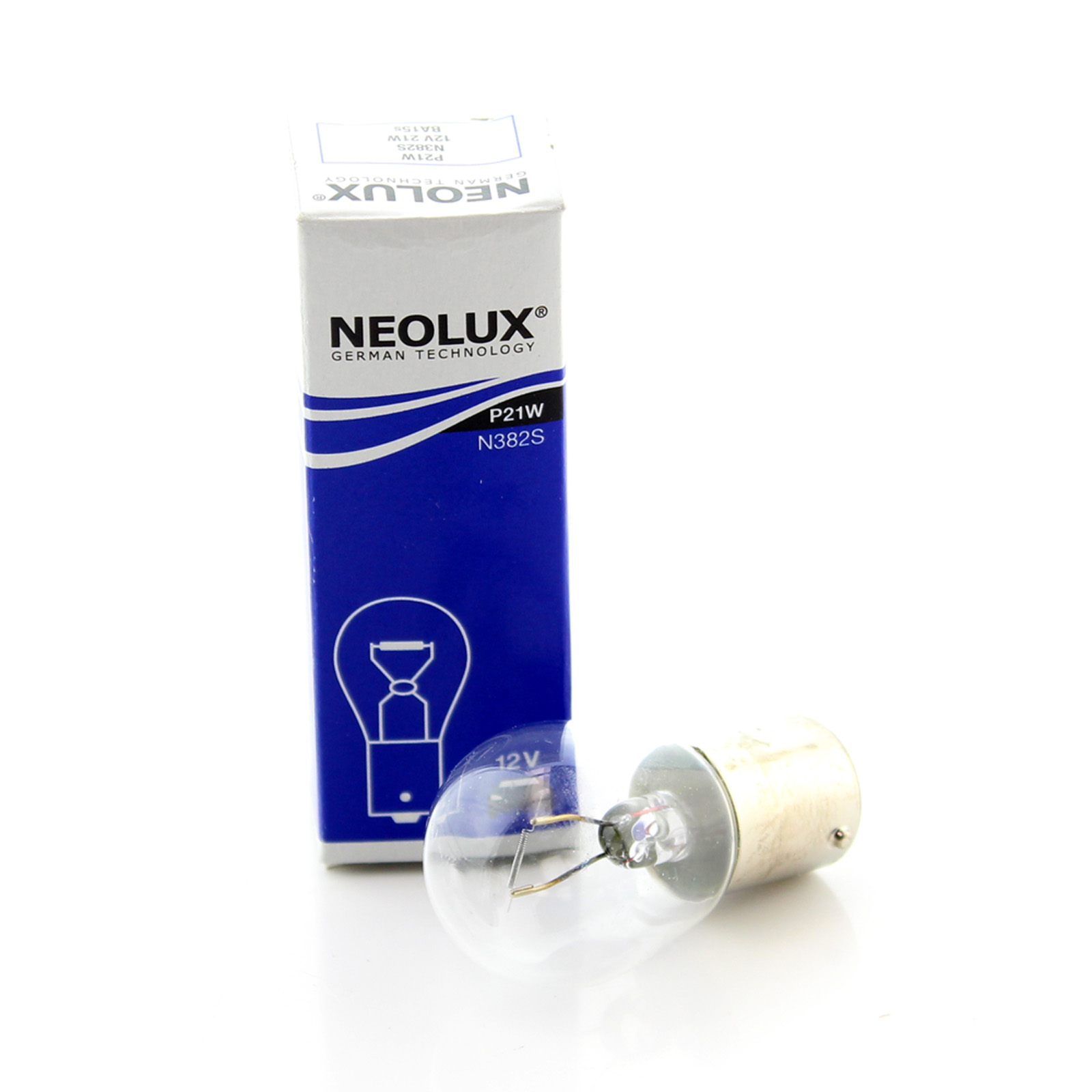 1x 382 P21w Neolux Rear Fog Light Bulb Standard Low Cost Direct Replacement Ebay