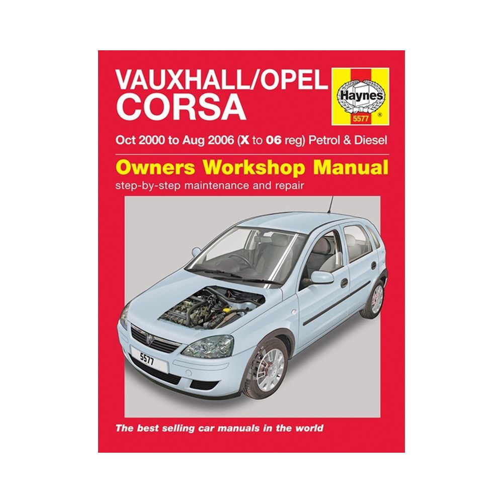 genuine haynes owners manual vauxhall opel corsa petrol diesel x reg to 2006 ebay. Black Bedroom Furniture Sets. Home Design Ideas