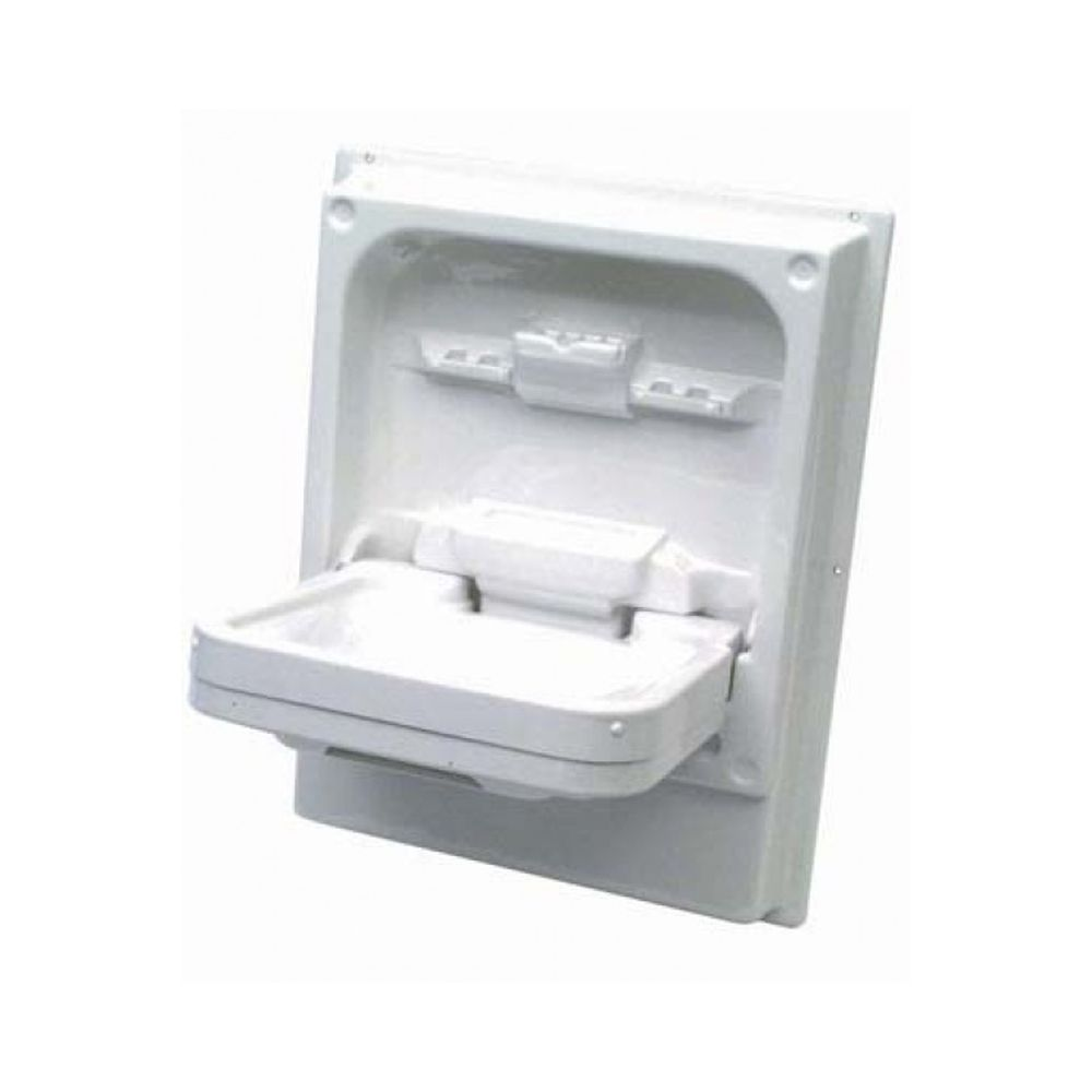Aac Cyroma Cleo Portable White Tip Up Wash Basin Sink For