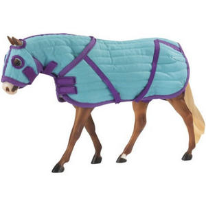 Breyer Traditional 2040 QUILTED BLANKET & HOOD SET