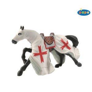 Papo 39347 KNIGHT CRUSADER'S HORSE - Red