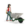 View Item Schleich 13453 Stable Girl & Wheelbarrow
