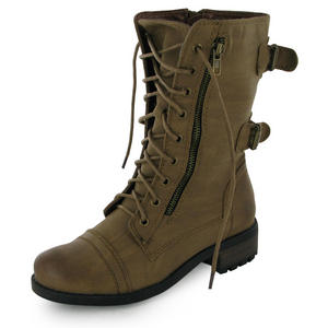 NEW-LADIES-MILITARY-LACE-UP-ANKLE-ARMY-WORKER-BOOTS-UK